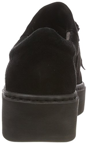 Black Black 24723 Tamaris 001 Loafers Women's AnPwqt