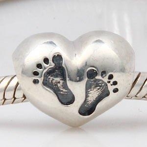 pandora charms baby feet