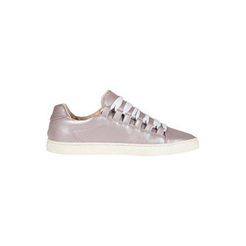 Tedish Sneakers Dames Wandelschoenen Meisje Leder Comfortabele Ongedwongen Lace-up Flats Td004 Orabelle Muse