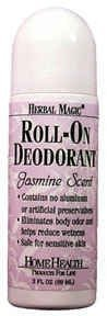 Home Health Roll-On Deodorant Herbal Magic Jasmine - 3 (Herbal Magic Roll Deodorant)