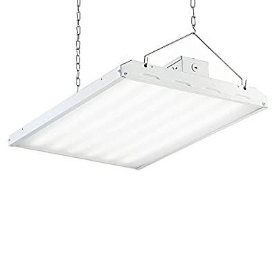 Designers Fountain HB2B19DMD50-DF 2' White Integrated Led backlit High Bay Hanging Light with 19000 lm, 5000K Cct