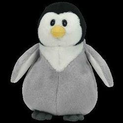TY Beanie Baby - SLAPSHOT the Penguin  - MWMTs Stuffed Anima
