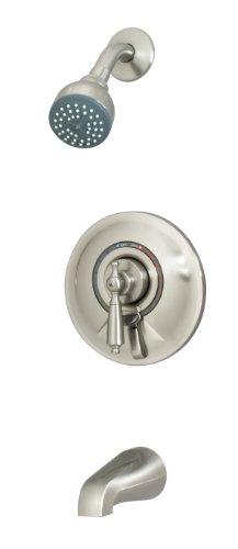Symmons S-7602-Stnrp Allura Tub/Shower System, Satin Nickel -