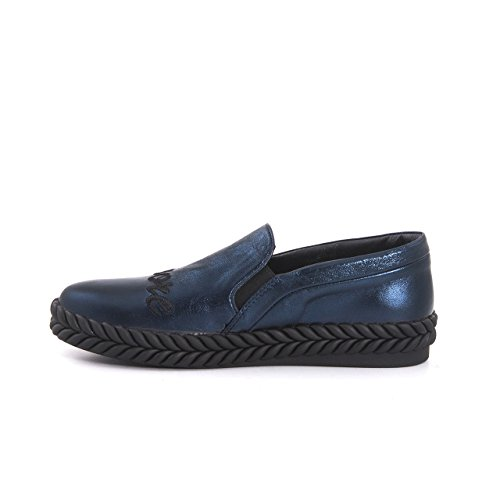 BOOWJESSSA - Zapatillas de estar por casa de Material Sintético para mujer, color negro, talla 38 EU