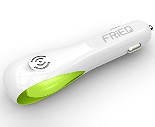 Car Air Purifier, FRiEQ Car Air Freshener and Ionic Air Purifier with Unique Scent Slot Design | Remove Dust, Pollen, Smoke and Bad Odors - Available for Your Auto or RV