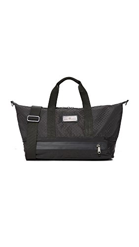 adidas by Stella McCartney Women's Small Gym Bag, Black/Gunmetal/Granite, One Size (Adidas Womens Gym)