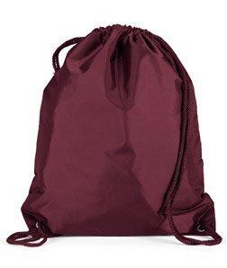 Liberty Bags Large Drawstring Backpack 8882 (OS / Maroon) ()