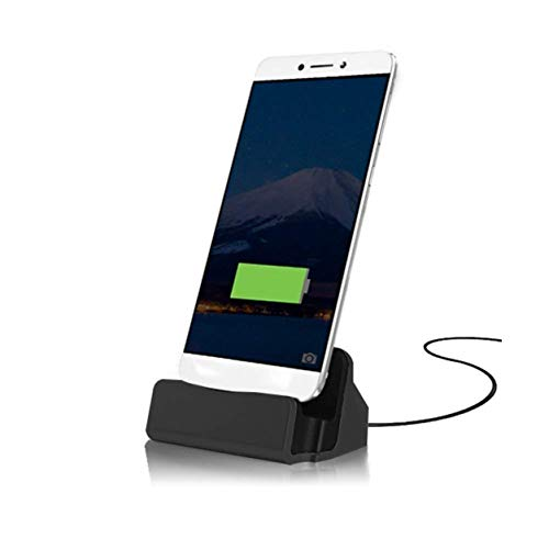 - FNSHIP Cell Phone Dock Stand Station,Micro USB Desktop Dock Cradle Holder for Samsung Galaxy S7, S6, Note 5, J7, J7 PRO, J7V, J7 Sky Pro, J7 Perx,J7 Prime, Eclipse,Mission,J3V, Moto (Black)
