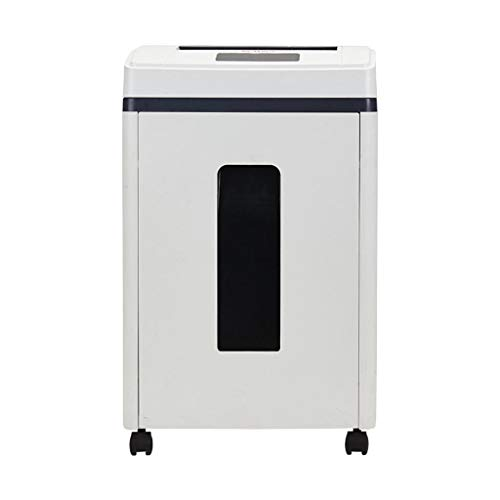 Electric Mute 60 Minutes of Operation 290w High Power Document Shredder, Level 5 Confidentiality, LCD Touch Screen, Shredded Paper/Broken Card/Broken Cd