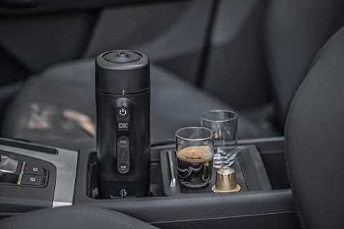 Handpresso 48309 Auto Capsule 12V / 24V (sigarettenaansteker) zwart - draagbare espressomachine voor Nespresso® * capsules