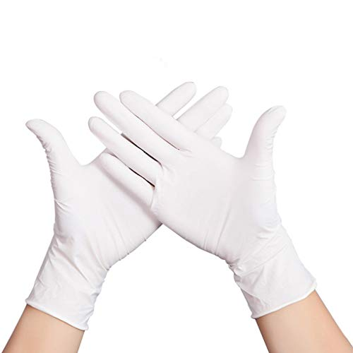 ZfgG Nitrile Gloves, Medical Grade, S M L XL, Powder Free, Latex Free, Eudermic,Medical Grade Disposable Examination Gloves, Ambidextrous,Veterinary Animal Health, 100/ Box (Size : S)