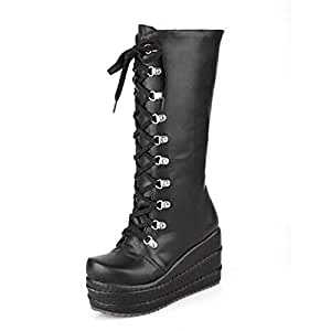Amazon.com: ZHZNVX Women's Shoes PU Fall & Winter Fashion