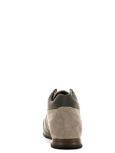 Geox - Zapatillas de ante para hombre marrón Rock