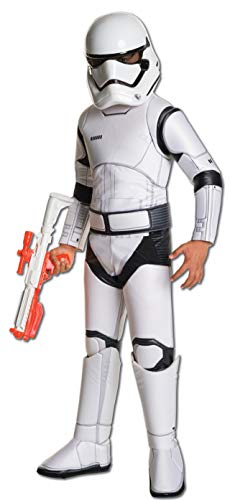 Star Wars: The Force Awakens Child's Super Deluxe Stormtrooper Costume, Medium ()