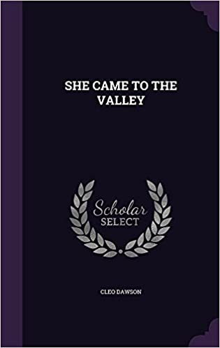 Book She Came to the Valley