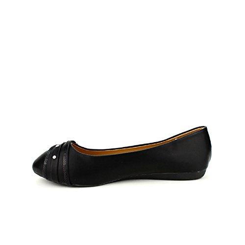 Cendriyon Ml Femme Noir Shoes Noires Chaussures Ballerines wqFzPwA