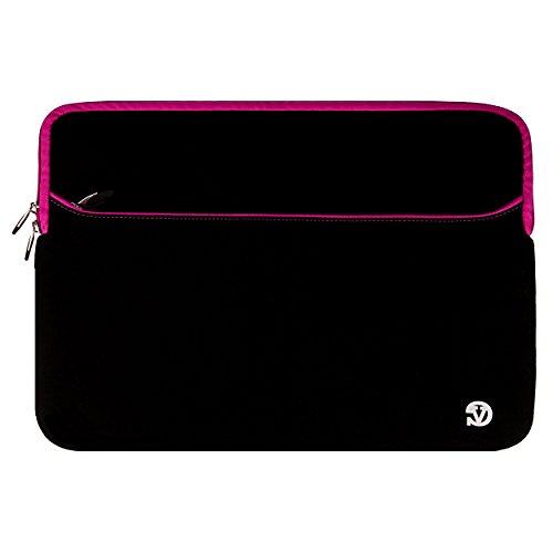 VanGoddy Neoprene Sleeve Cover for Asus ROG 17.3-inch Gaming Laptops (Pink Trim)