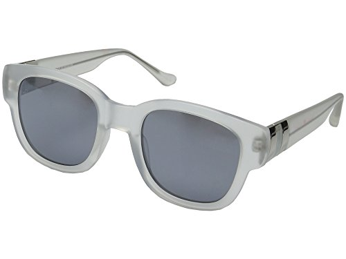 Ivanka Trump 031 Fashion Sunglasses (crystal, silver - Large Extra Wayfarer Sunglasses