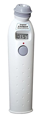 Exergen Temporal Scan Forehead Artery Baby Thermometer Tat-2000c Scanner (Polaroid Glow In The Dark)