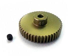 3Racing RC Hobby 3RAC-PG4846 48 Pitch Pinion Gear 46T (7075 w/ Hard Coating)