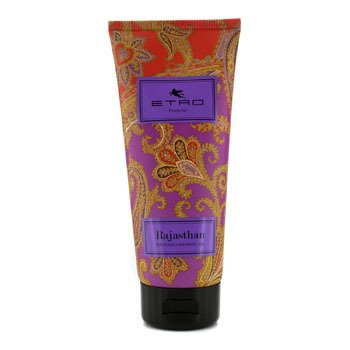 Gel Gel Etro Shower (Etro Rajasthan Perfumed Shower Gel 200ml/6.7oz)
