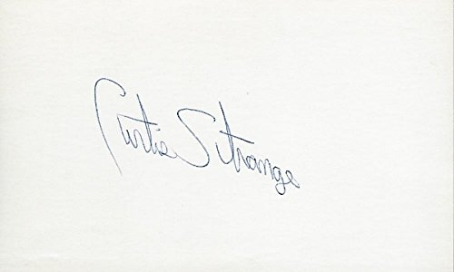 - Curtis Strange Autographed Golf 3x5 Inch Index Card - Guaranteed to pass PSA or JSA - 1988 and 1989 U.S. Open Champion - FULL Signature