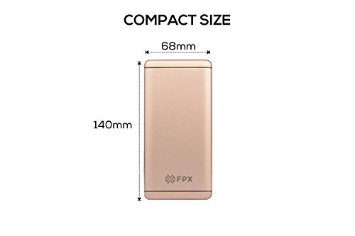 FoxProx FX 10000 14 10000mAH Lithium Polymer Power Bank  Gold