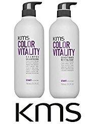 - KMS Color Vitality Shampoo & Conditioner DUO 25.3 oz / 750ml
