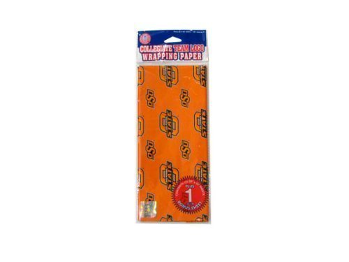 NCAA Oklahoma State Cowboys Wrapping Paper