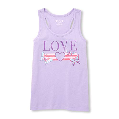 The Children's Place Big Girls' Novelty Racerback Tank Top – The Super Cheap