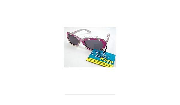 Jimmy Houston Skipper Series Pink Camo Polarized Sunglasses for Kids New