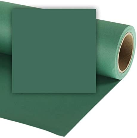 LL CO537 Colorama 1.35x11m Spruce Green Background Paper
