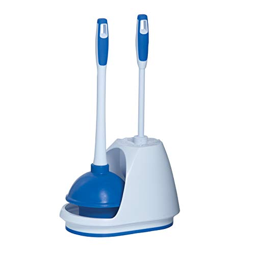 Mr. Clean 440436 Turbo Plunger and Bowl Brush Caddy Set (Cheap Bathroom Sets)