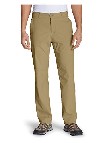 Eddie Bauer Men's Horizon Guide Chino Pants, Saddle Regular 34/30