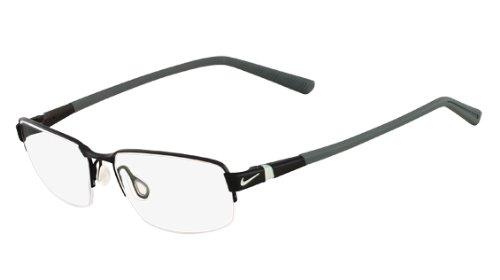 009 Glasses (NIKE Eyeglasses 6051 009 Satin Black 54MM)