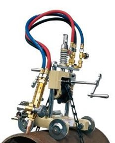 CG2-11G Manual Pipe Cutting Beveling Machine Torch Track Cutter 6~50mm (Acetylene + oxygen) (Pipe Beveling)