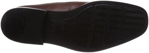 Clarks Tilden Free Brown Leather 6 UK G / 39.5 EU