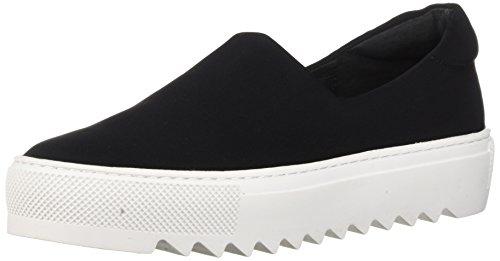 J Slides Womens Sage Sneaker Nero Lycra