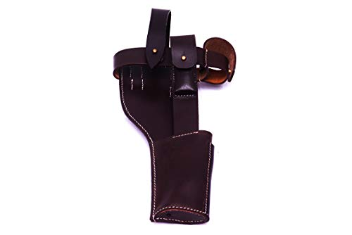 German WWI Mauser C-96 Broomhandle Holster Rig - Black (German Mauser Broomhandle Leather Holster And Stock)