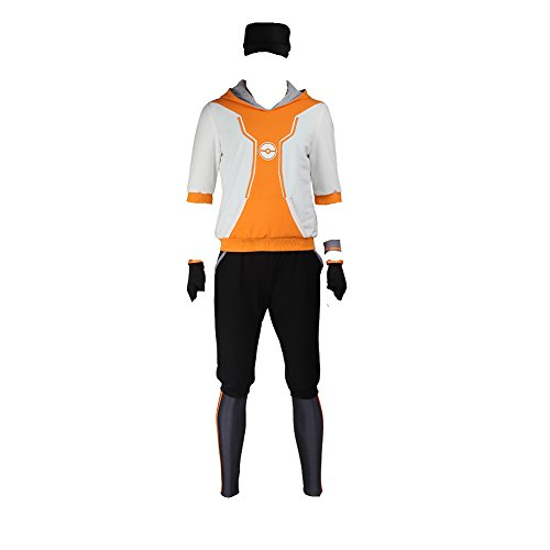 Manles Men's Pokemon Go Hoodie Trainer Team Valor Instinct Mystic Costume