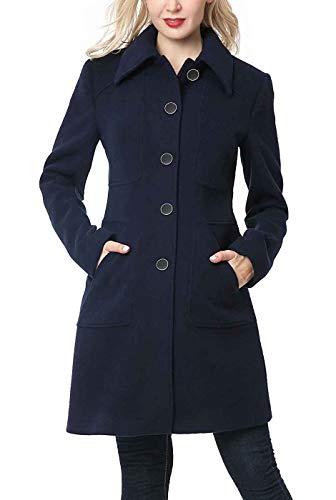 女士羊毛混纺大衣,收腰设计超级显瘦