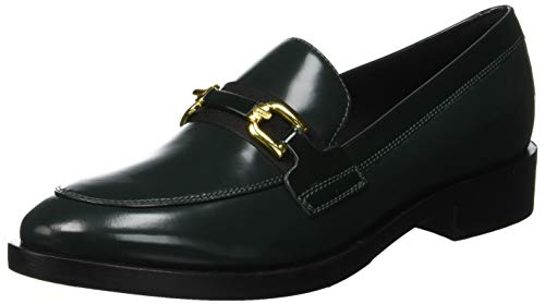 Donna Geox black dk A C3259 Forest Mocassini Brogue Verde gFBqdFwT