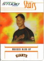 (2005 Studio Stars Baseball Card #27 Moises Alou)