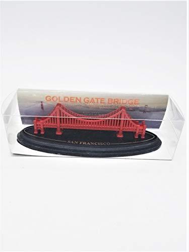 (59 7/18) Golden Gate Bridge Model San Francisco With Wood Base 4