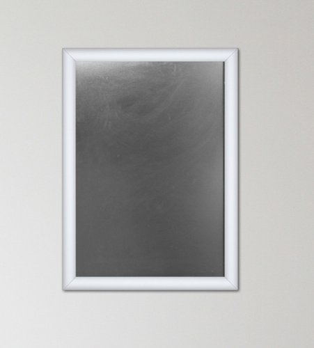 SECO Front Load Easy Open Snap Poster Frame/ Picture Frame 11 x 17 Inches, Silver Metal Frame (SN1117) Photo #2