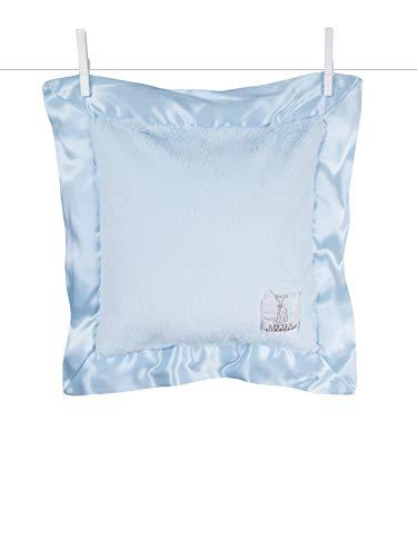 Little Giraffe Luxe Solid Pillow, Blue, 14