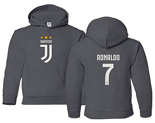 Spark Apparel Soccer Shirt #7 Cristiano Ronaldo Juve CR7 Boy