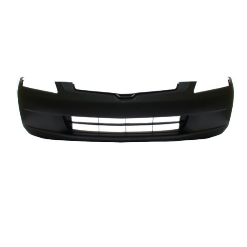 CarPartsDepot 352-20128-10-PM FRONT BUMPER COVER PRIMED BLACK PLASTIC NEW HO1000210