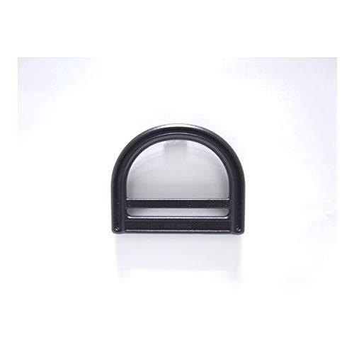 100個セット NIFCO ニフコ DBR50 プラスチック Dカン 黒 50mm巾用 ベルトストラップなどに 100個セット  B07K2775BY
