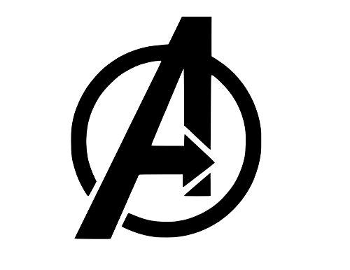 Avengers Symbol Vinyl Sticker Decal (10